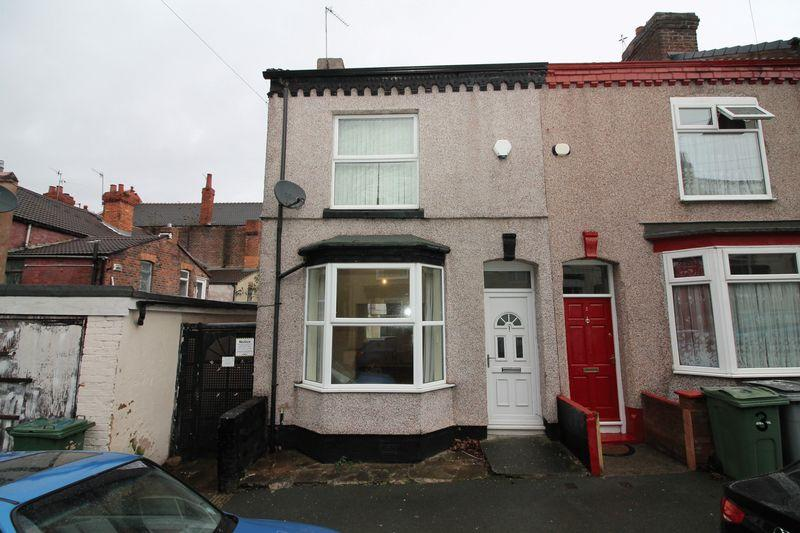 3 Bedrooms End Of Terrace House for sale in Larch Road, Birkenhead