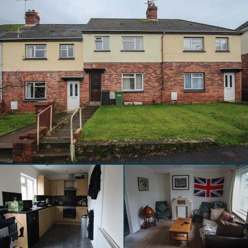 2 bedroom terraced house to rent - 5 Barley Mount, Exeter