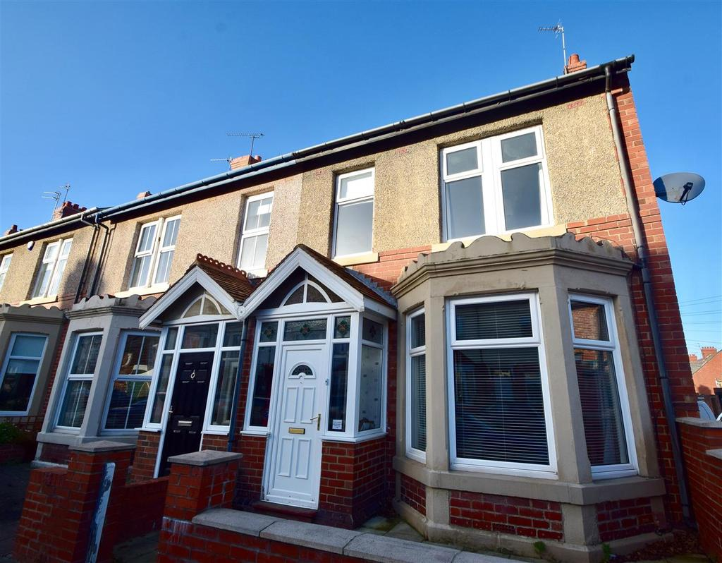 3 Bedrooms End Of Terrace House for sale in Kew Gardens, Whitley Bay