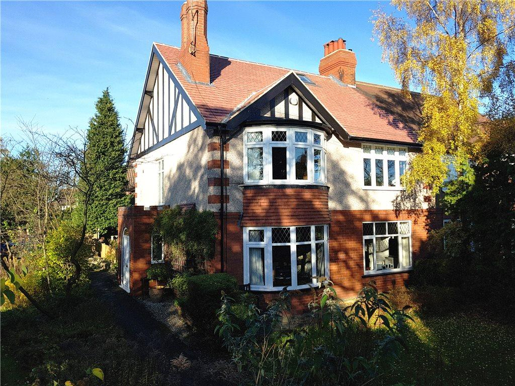 4 Bedrooms Semi Detached House for sale in Woodlands Drive, Harrogate, North Yorkshire