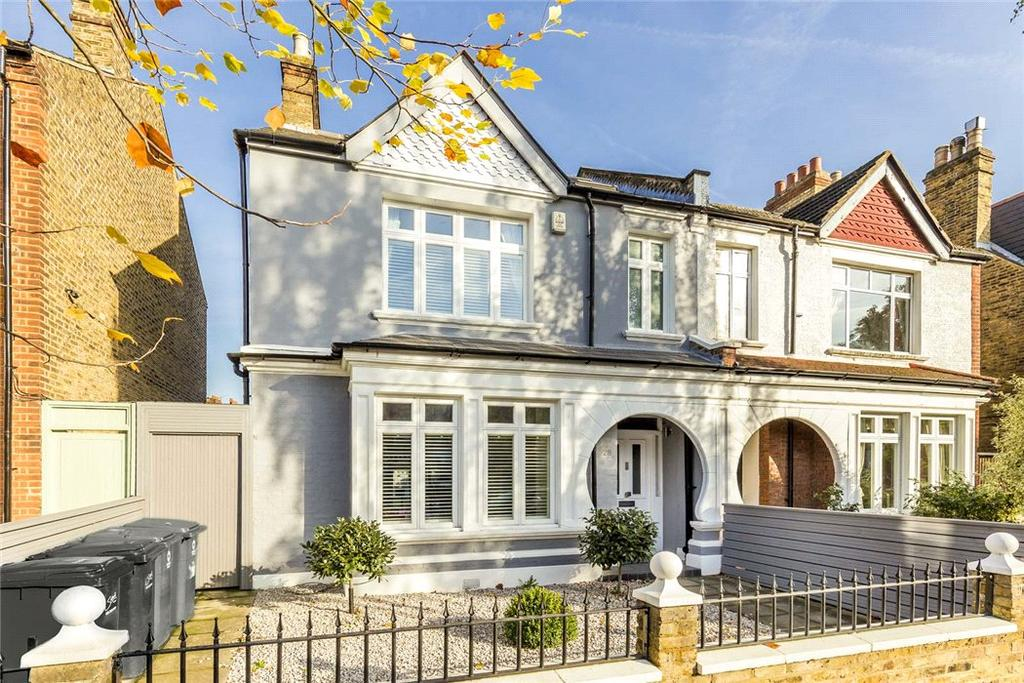 4 Bedrooms Semi Detached House for sale in Woodwarde Road, East Dulwich, London, SE22