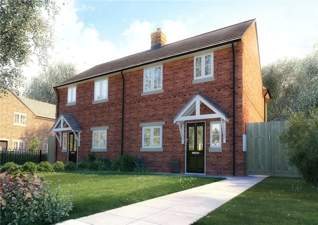 3 Bedrooms Semi Detached House for sale in Plot 8 - Salcey Pines, Bailey Brooks Lane, Roade, Northamptonshire, NN7