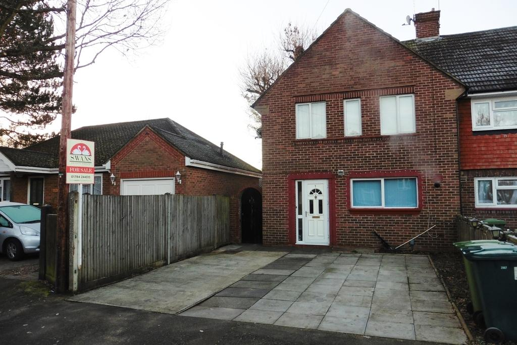 4 Bedrooms End Of Terrace House for sale in Gloucester Crescent, Staines-upon-Thames, TW18