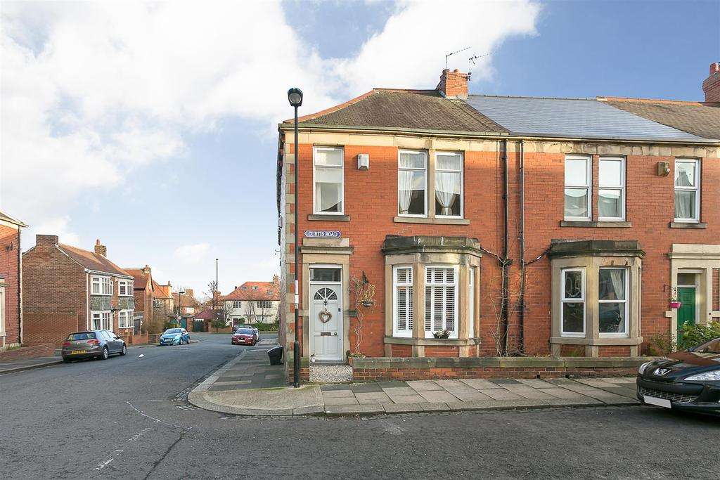 3 Bedrooms Terraced House for sale in Curtis Road, Fenham, Newcastle upon Tyne