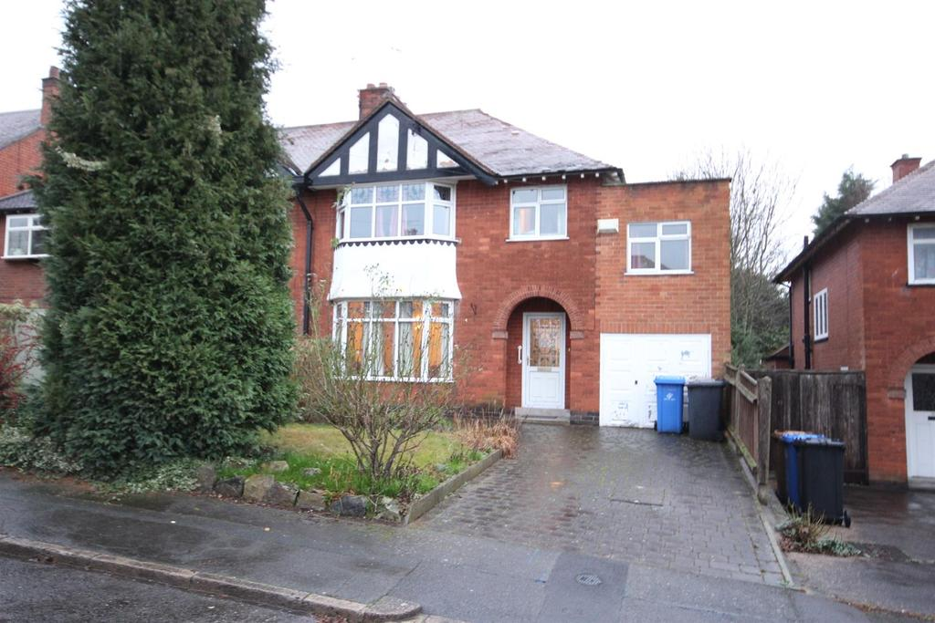 4 Bedrooms Semi Detached House for sale in Park Drive, Littleover, Derby