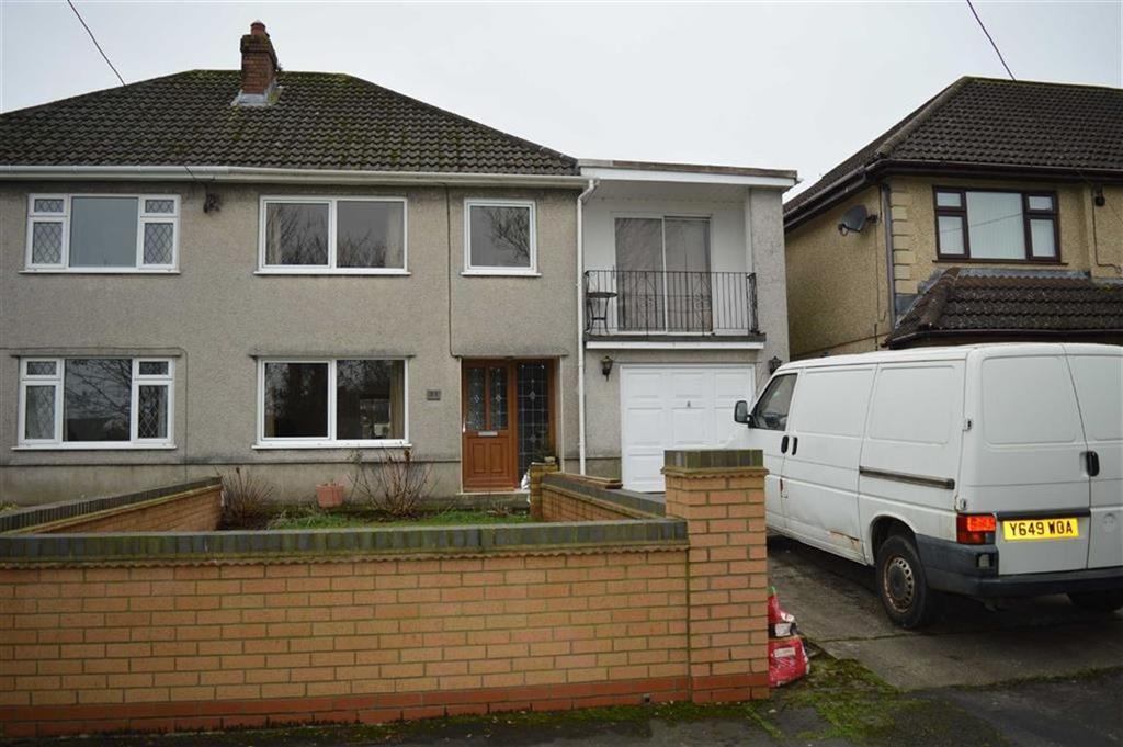 4 Bedrooms Semi Detached House for sale in Woodlands, Gowerton, Swansea