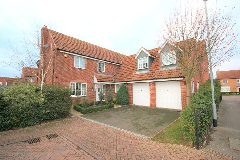 5 Bedrooms Detached House for sale in Nursery Way, Spalding, PE11