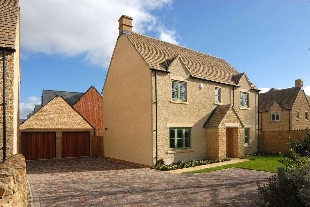 4 Bedrooms Detached House for sale in 5 Delfin Way, Upper Rissington, Cheltenham, Gloucestershire, GL54
