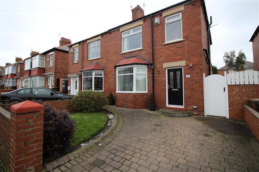 3 Bedrooms Semi Detached House for sale in Fern Avenue, North Shields
