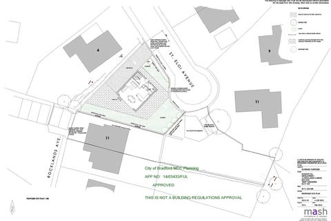 Plot for sale - Rocklands Avenue, Baildon, West Yorkshire