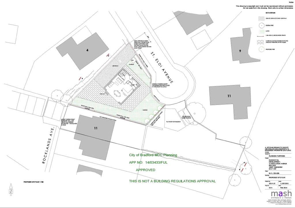 Plot Commercial for sale in Rocklands Avenue, Baildon, Shipley, West Yorkshire