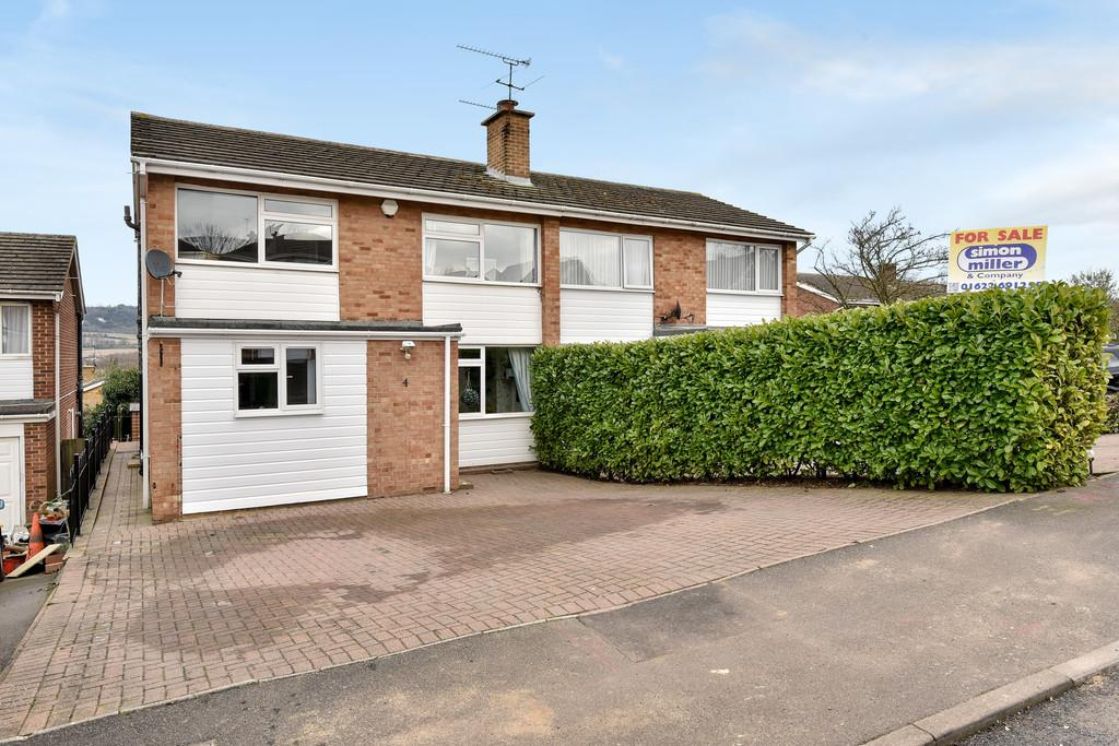4 Bedrooms Semi Detached House for sale in Stockton Close, Penenden Heath