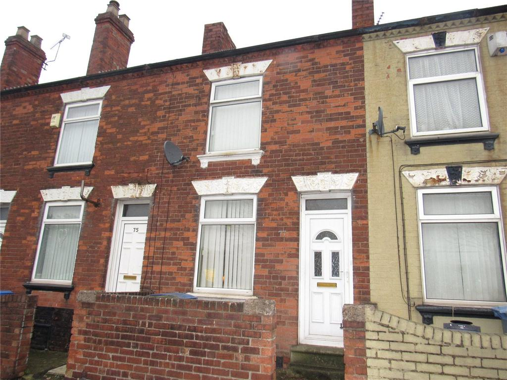2 Bedrooms Terraced House for sale in Littleworth, Mansfield, Nottinghamshire, NG18