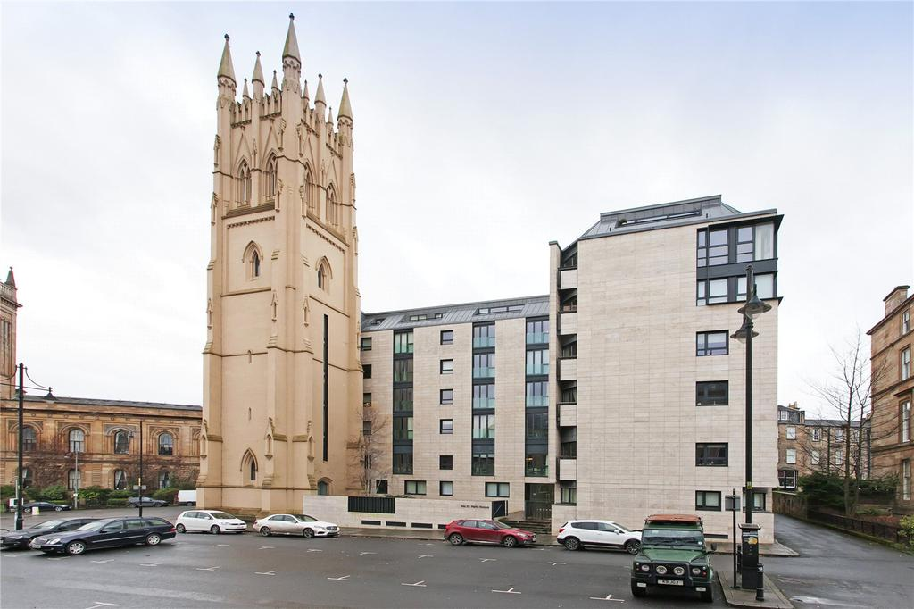 2 Bedrooms Penthouse Flat for sale in Flat 6/3 Park House, Park Circus Place, Park, Glasgow