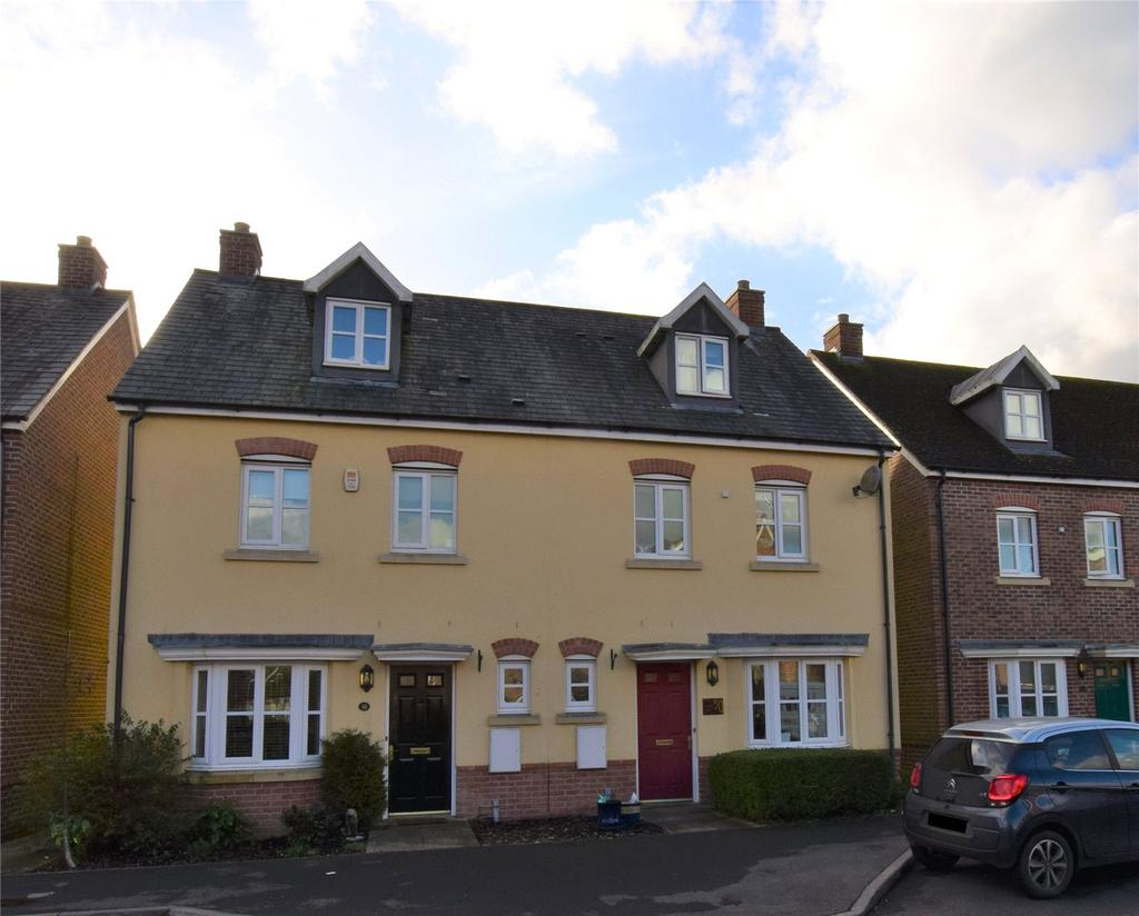4 Bedrooms Semi Detached House for sale in Acorn Gardens, Burghfield Common, Reading, RG7