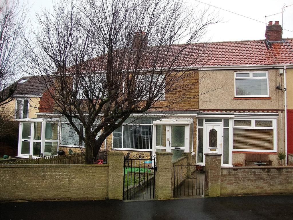 2 Bedrooms Terraced House for sale in The Crescent, Blackhall Colliery, TS27