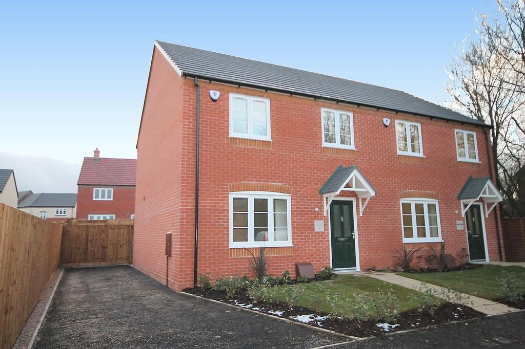 3 Bedrooms Semi Detached House for sale in Ashmead, Overwoods Road, Hockley, Tamworth