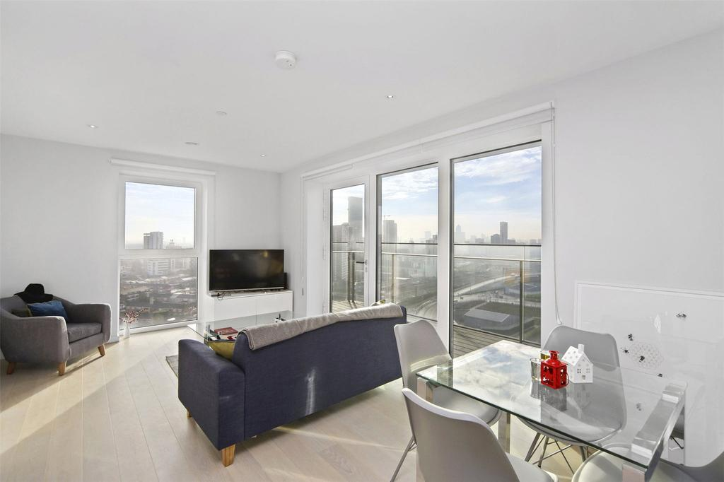 1 Bedroom Flat for sale in Cassia Point, Stratford, London, E20