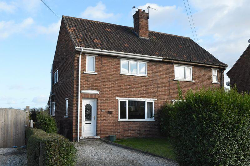 2 Bedrooms Semi Detached House for sale in Vicarage Gardens, Wrawby