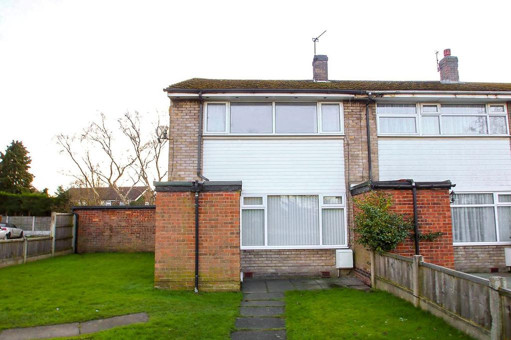 2 Bedrooms End Of Terrace House for sale in Grasmere Road, Partington, Manchester, M31