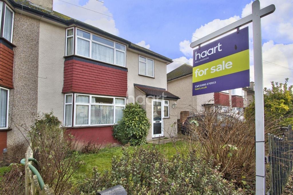 3 Bedrooms Semi Detached House for sale in Morello Avenue, Hillingdon
