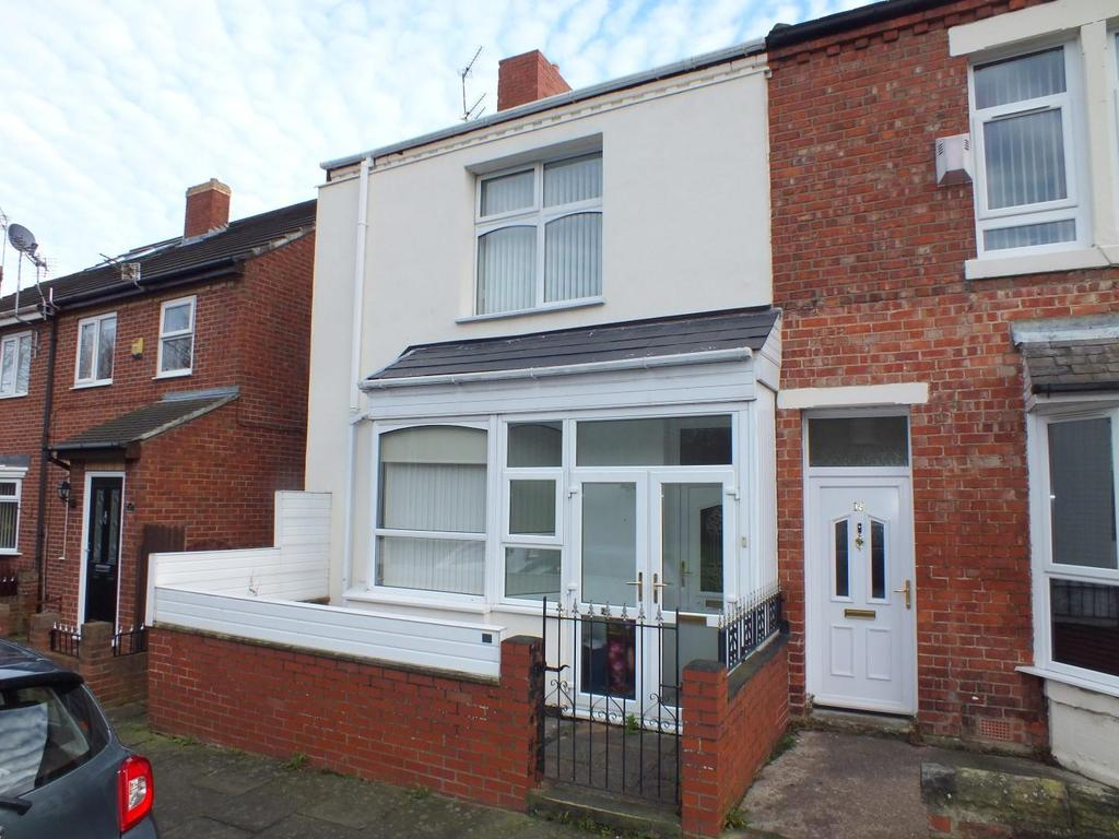 2 Bedrooms End Of Terrace House for sale in John Street, Blyth