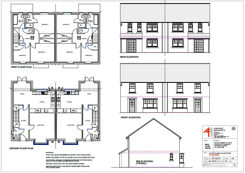 3 Bedrooms House for sale in High Road, Stanley, Crook
