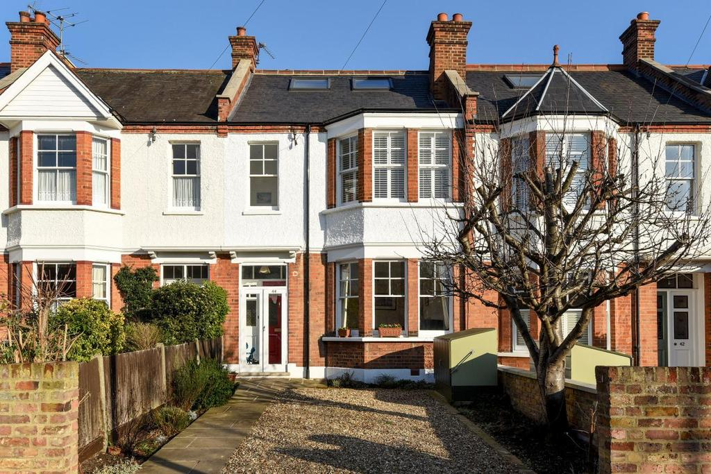 4 Bedrooms Terraced House for sale in Lambton Road, West Wimbledon, SW20
