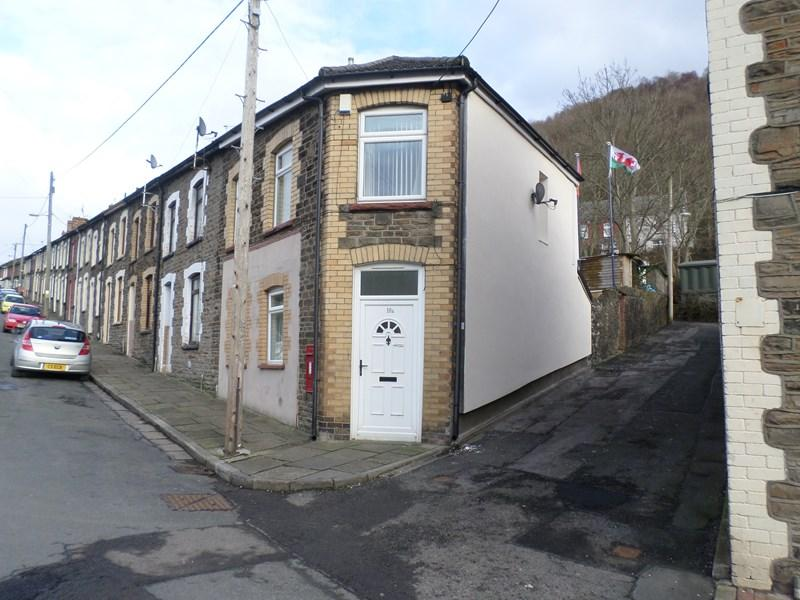 2 Bedrooms End Of Terrace House for sale in Birchgrove Street, Porth, NR PONTYPRIDD