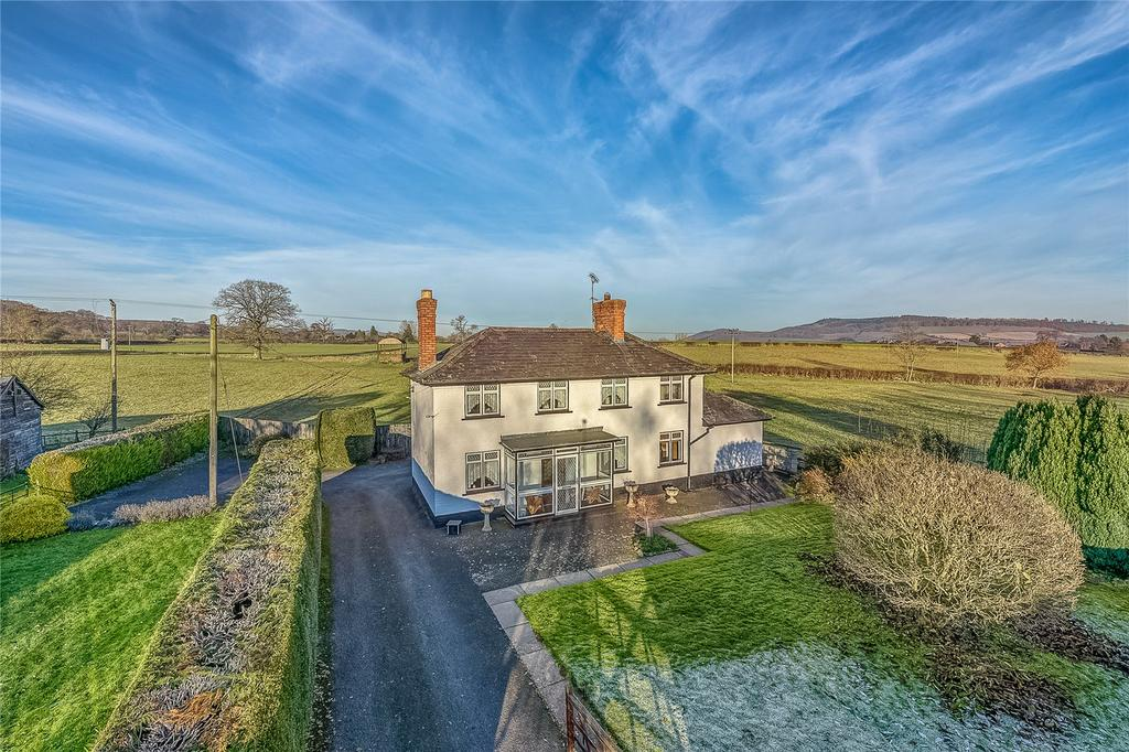 2 Bedrooms Detached House for sale in Sibdon, Craven Arms, Shropshire