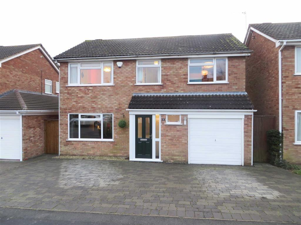 5 Bedrooms Detached House for sale in Meadow Close, Ratby