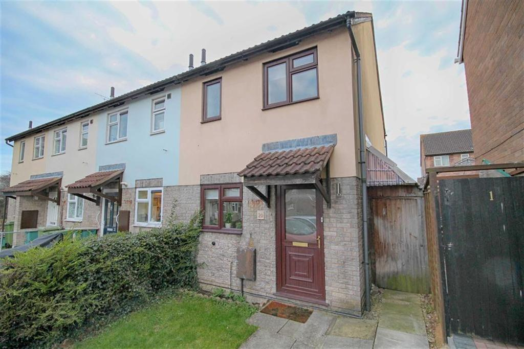 2 Bedrooms End Of Terrace House for sale in Terry Ruck Close, Fiddlers Green, Cheltenham, GL51