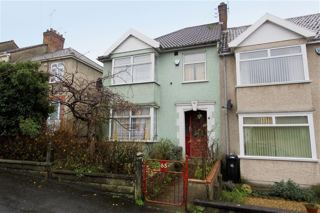 3 Bedrooms End Of Terrace House for sale in Wootton Crescent, St Annes, Bristol