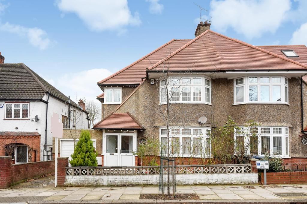 5 Bedrooms Semi Detached House for sale in Avondale Avenue, North Finchley
