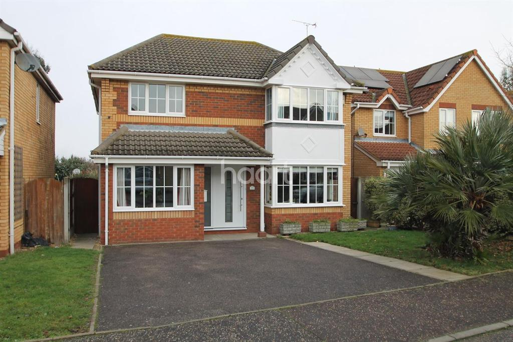 4 Bedrooms Detached House for sale in Wicklow Walk, Shoeburyness