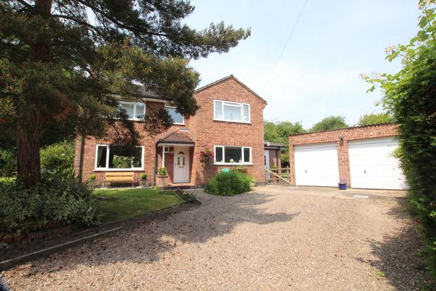 3 Bedrooms Detached House for sale in Debdale Hill, Old Dalby, Melton Mowbray, LE14