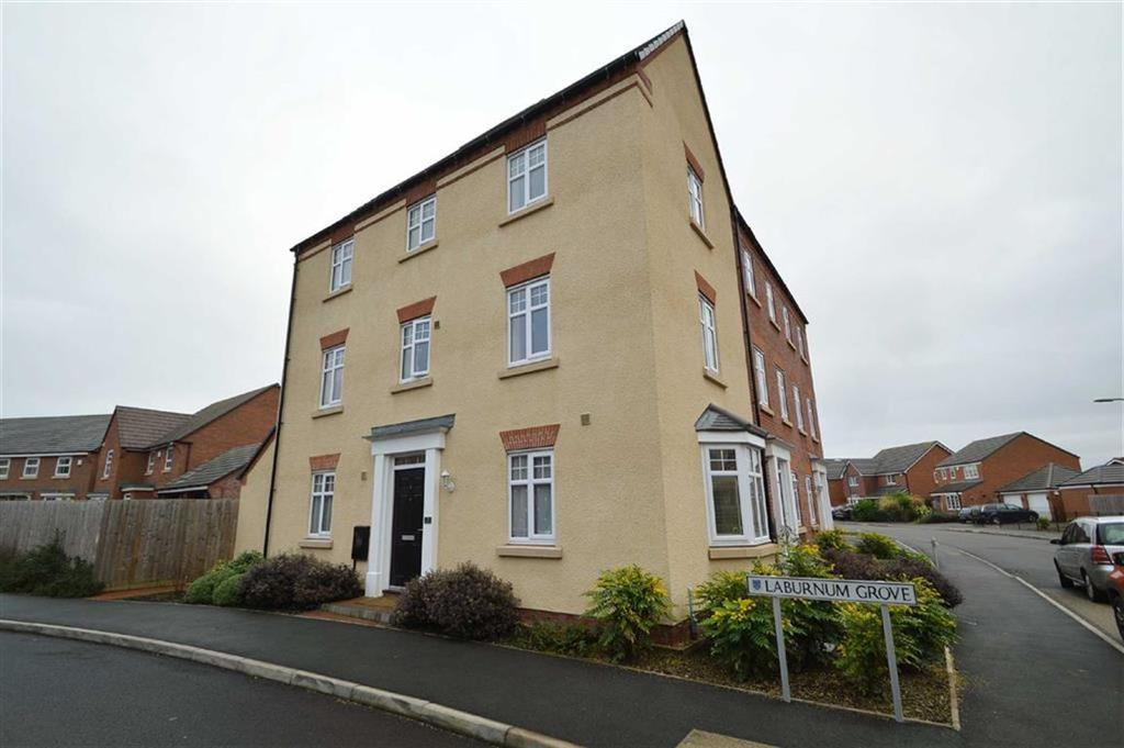 4 Bedrooms Town House for sale in Laburnham Grove, Spring Gardens, Shrewsbury