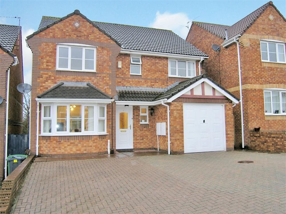 4 Bedrooms Detached House for sale in Cranbourne Way, Pontprennau, Cardiff