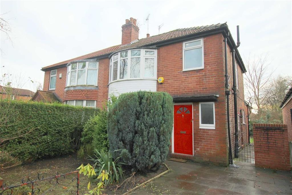 3 Bedrooms Semi Detached House for sale in Mauldeth Road, Withington, Manchester