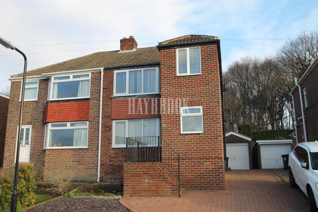 3 Bedrooms Semi Detached House for sale in Hungerhill Road, Kimberworth