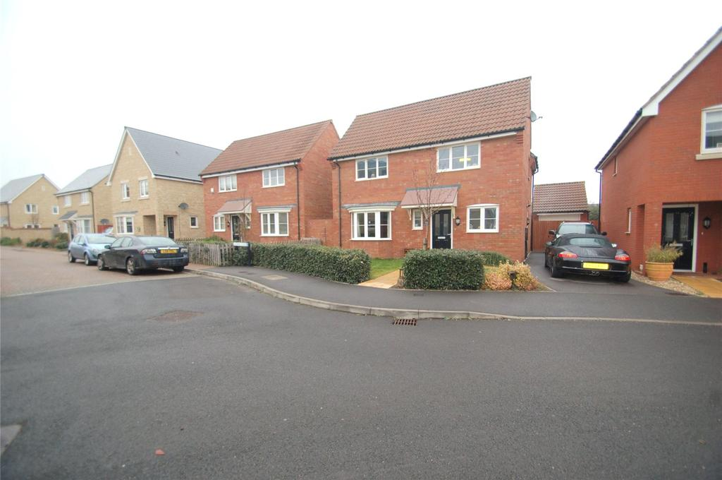 4 Bedrooms Detached House for sale in Lotus Drive, North Petherton, Bridgwater, Somerset, TA5