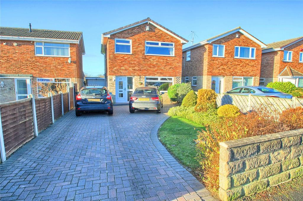 3 Bedrooms Detached House for sale in Surbiton Road, Hartburn