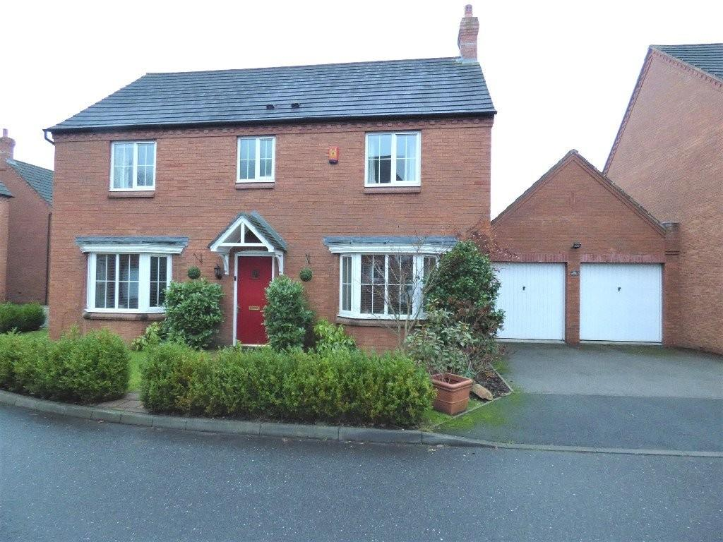 4 Bedrooms Detached House for sale in Mellor Drive, Alrewas