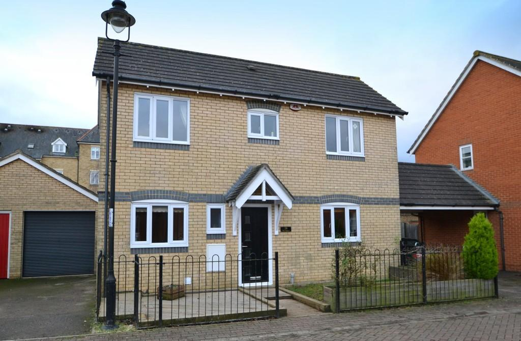 4 Bedrooms Detached House for sale in Emperor Circle, Ipswich, Suffolk