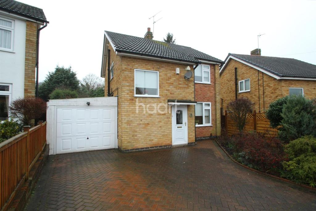3 Bedrooms Detached House for sale in Skelton Drive, West Knighton, Leicester LE2