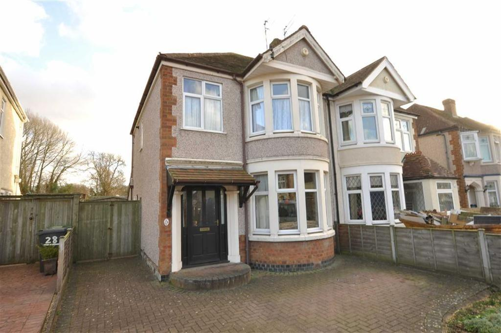 3 Bedrooms Semi Detached House for sale in Kinross Road, Leamington Spa