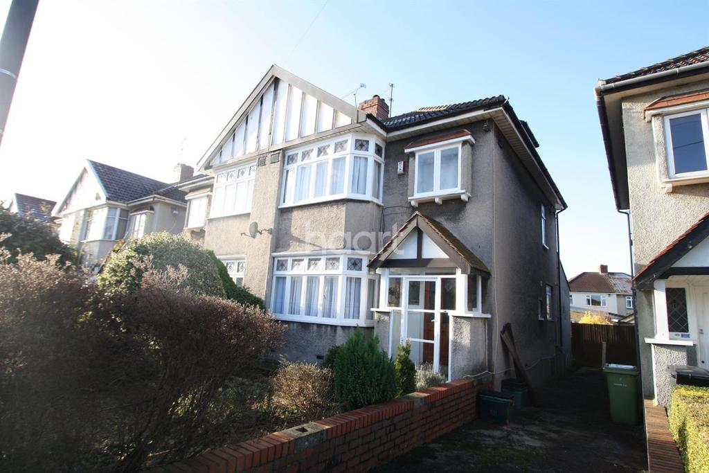 3 Bedrooms Semi Detached House for sale in Vassall Road, Fishponds