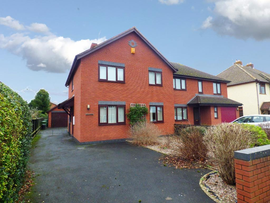3 Bedrooms Semi Detached House for sale in Ferndale Road, Kings Acre, Hereford