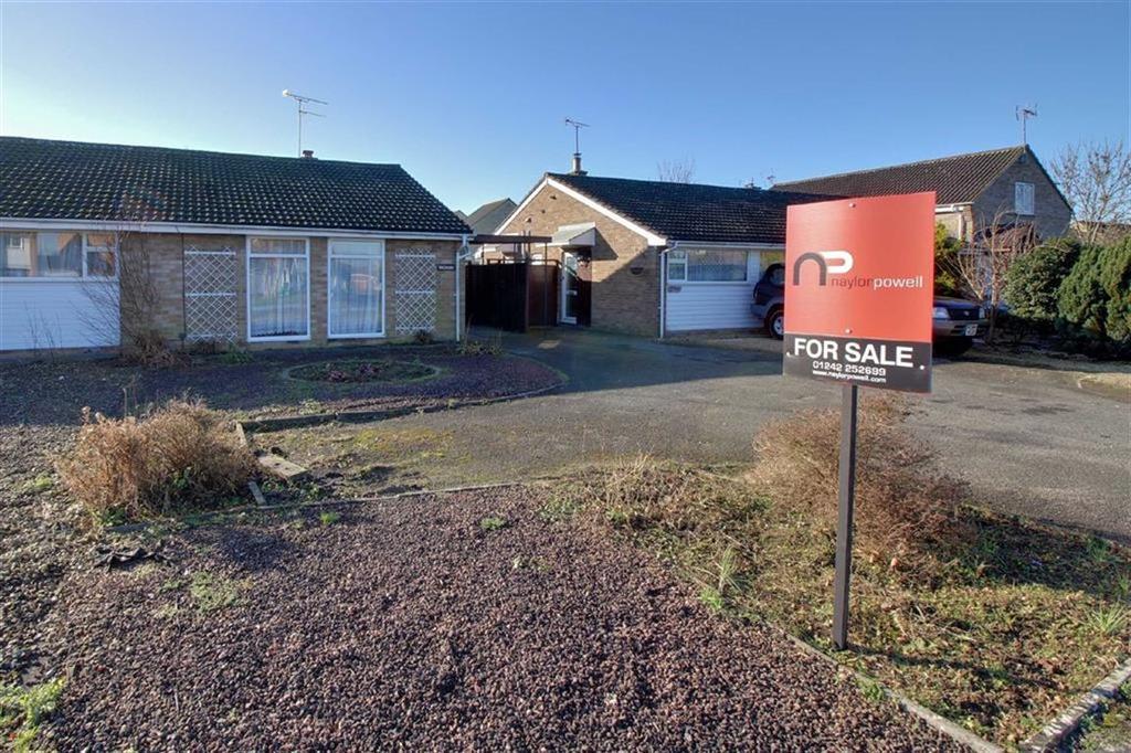 2 Bedrooms Semi Detached Bungalow for sale in Farmfield Road, Warden Hill, Cheltenham