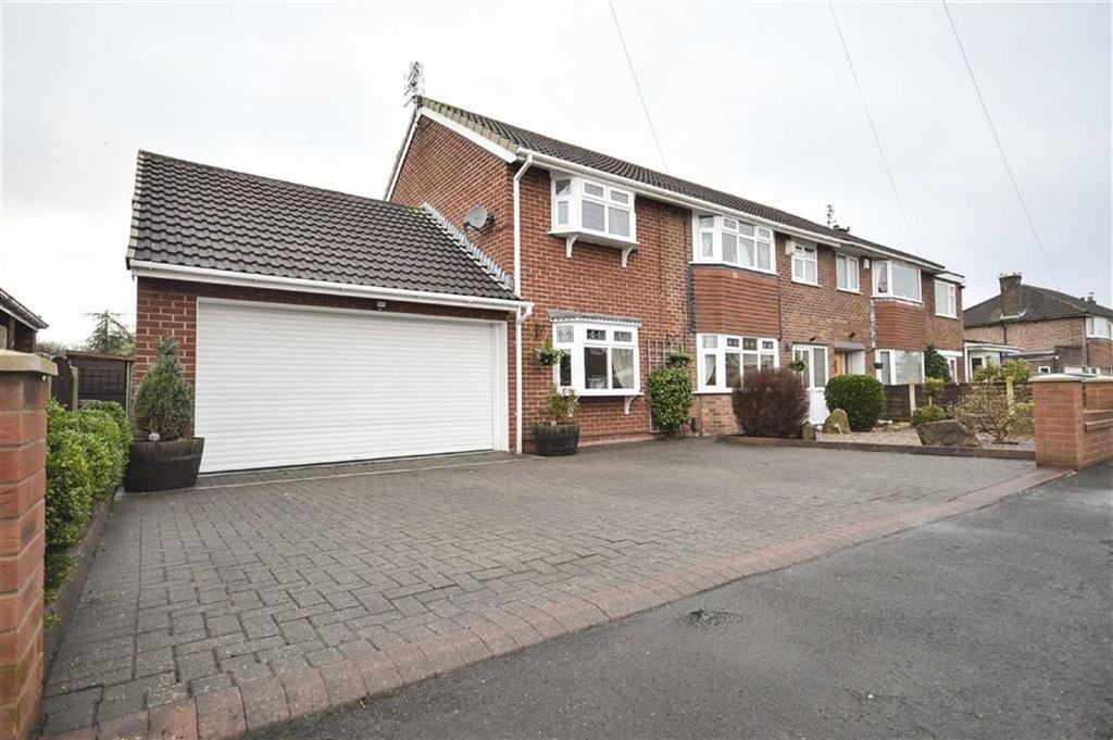 4 Bedrooms Semi Detached House for sale in EAST DOWNS ROAD, Cheadle Hulme, Cheadle